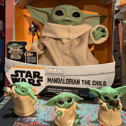 The Child from The Mandalorian was a stand out new launch for Hasbro.