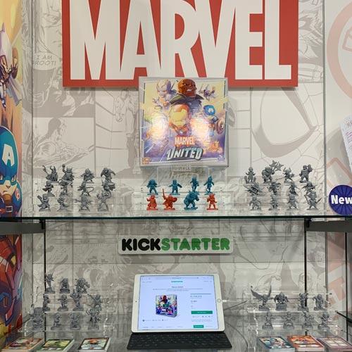 Spin Master Games leveraged Kickstarter for Marvel United.