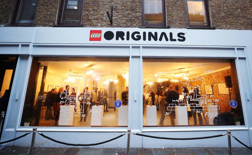 A recent LEGO pop-up store had huge appeal for kidults.
