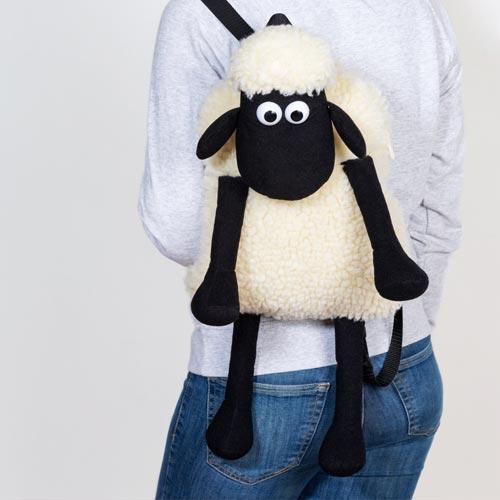 TruffleShuffle's Shaun the Sheep backpack taps into kidult nostalgia.