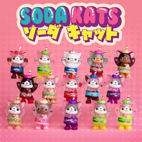 Soda Kats is the first series from Paka Paka.