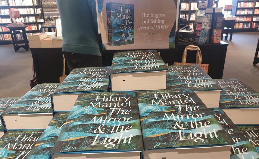 The launch of Hilary Mantel's new book was a major event in Waterstones.