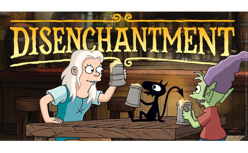 Matt Groening's new animated series, Disenchantment hit Netflix last year with Rocket Licensing handling the UK CP drive.