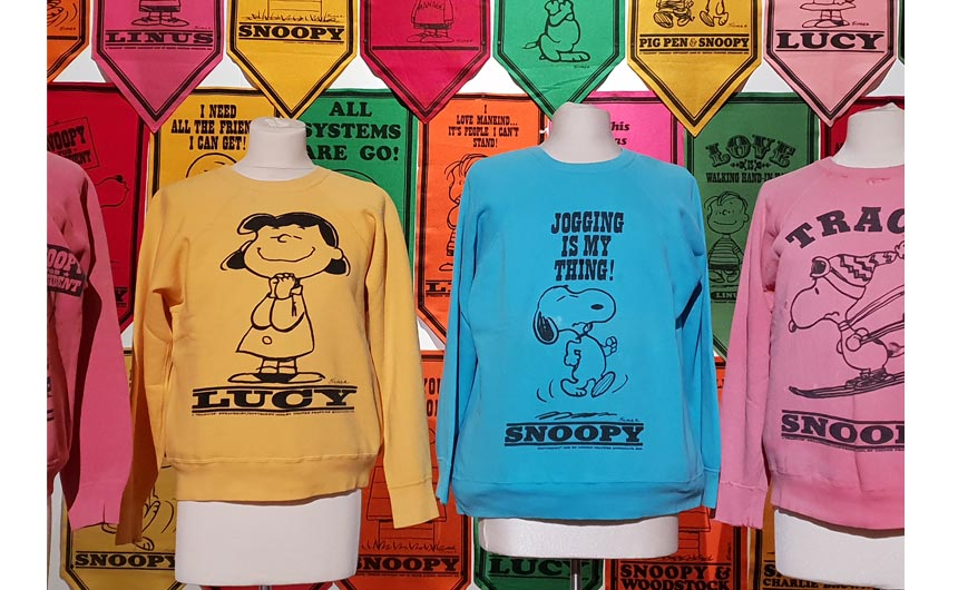 The Snoopy exhibition at Somerset House showcased some great examples of how a classic character can be refreshed on apparel.