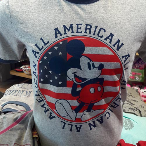 Mickey Mouse designs cover all ages and all kinds of retailers.