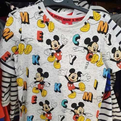 Mickey Mouse has featured on multiple design styles to extend retail reach.
