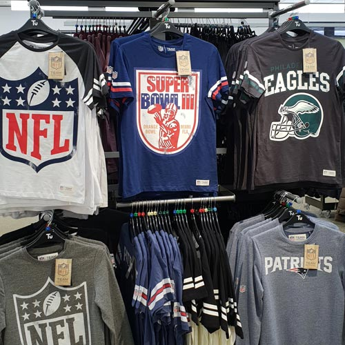 As well as a sports brand. NFL is also now a lifestyle brand.