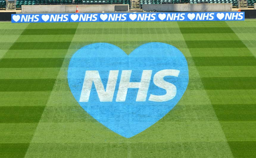 Could scaled down versions of the RFU's thank you to the NHS be licensed for fans?