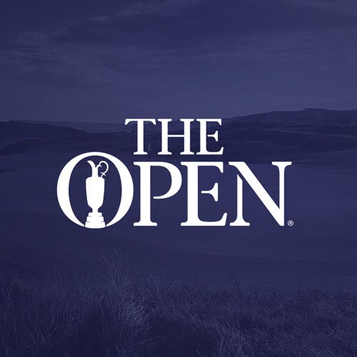 The Open focuses on the number rather than the year in its branding.