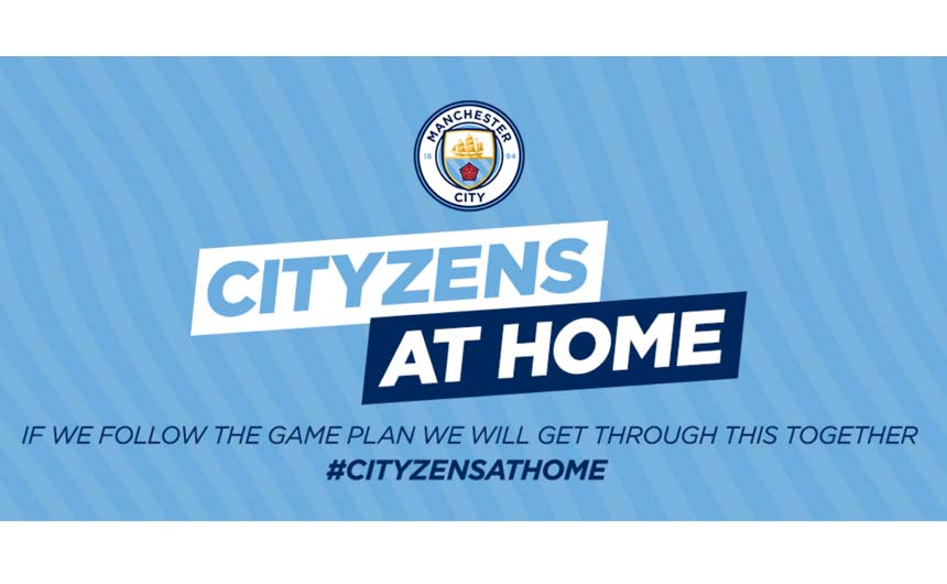 Manchester City's #CityzensAtHome initiative is providing online activities for all ages.