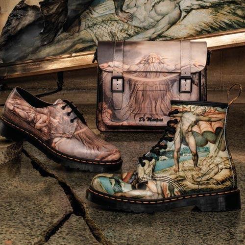 Dr Martens developed range in conjunction with the Tate Gallery.