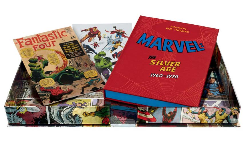 The Folio Society has created a high-end collection called Marvel: The Silver Age 1960-1970.