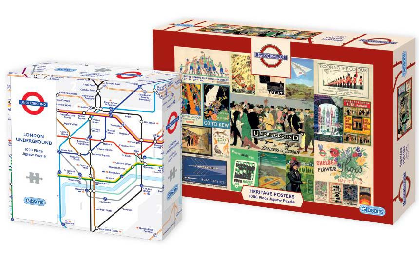 Gibsons Games has embraced heritage licensing with TfL.