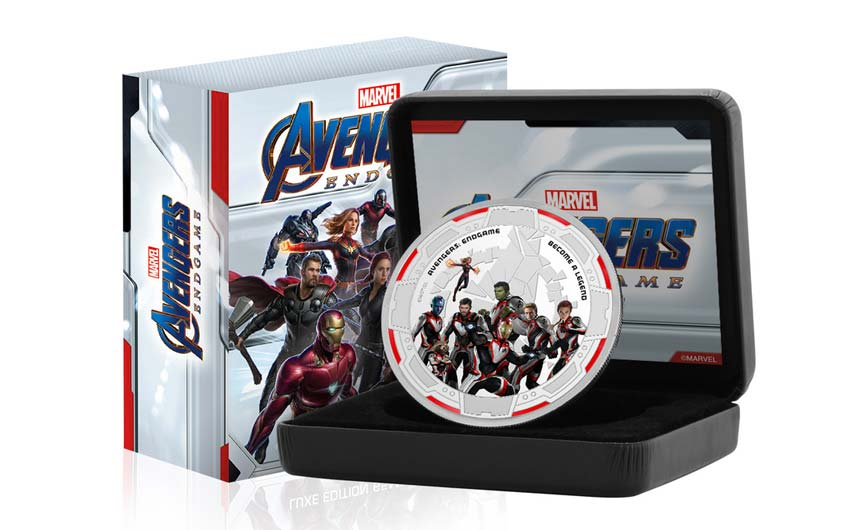 The Koin Club has a wide range of Marvel products among its licensed line-up.