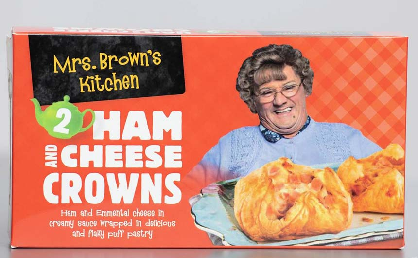 Mrs Brown's Kitchen is a fun way of disrupting a rather traditional category.