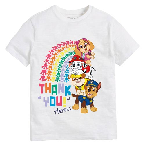 PAW Patrol has been popular on Character.com due to the NHS tee promotion.