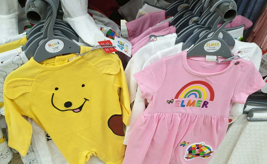 There is still commitment to a strong design vision on toddler and babywear.