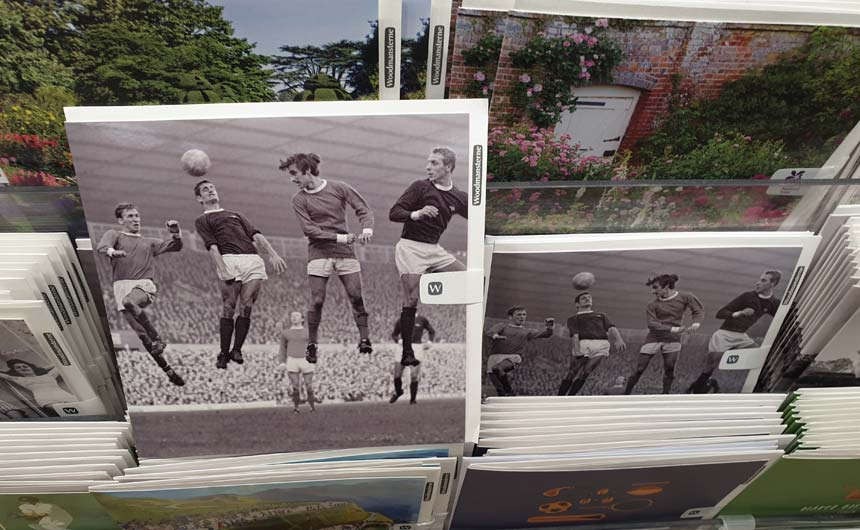Are there more opportunities for sports brands in the greeting cards category?