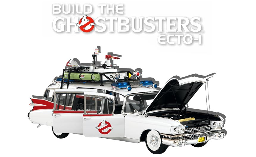 'Making and doing' is a strong area for partworks, which Eaglemoss has developed with its Ghostbusters car.