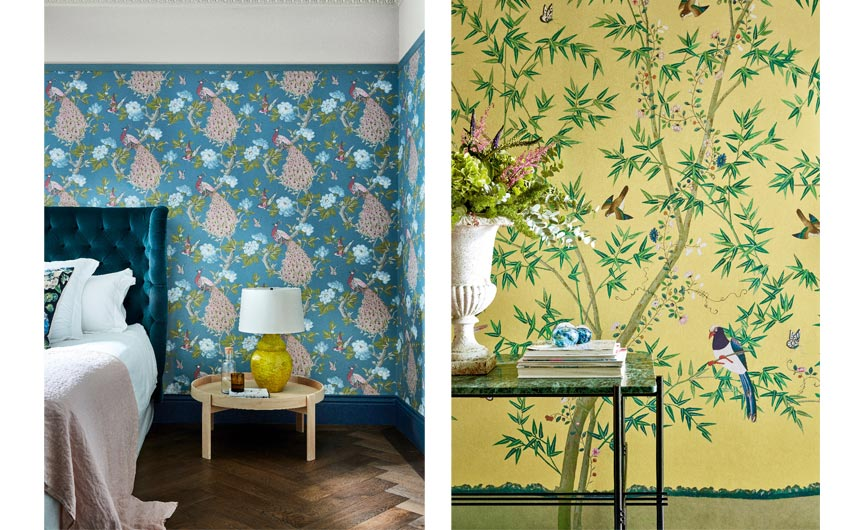 Little Green Paint's collection is inspired by the Trust's historic houses.