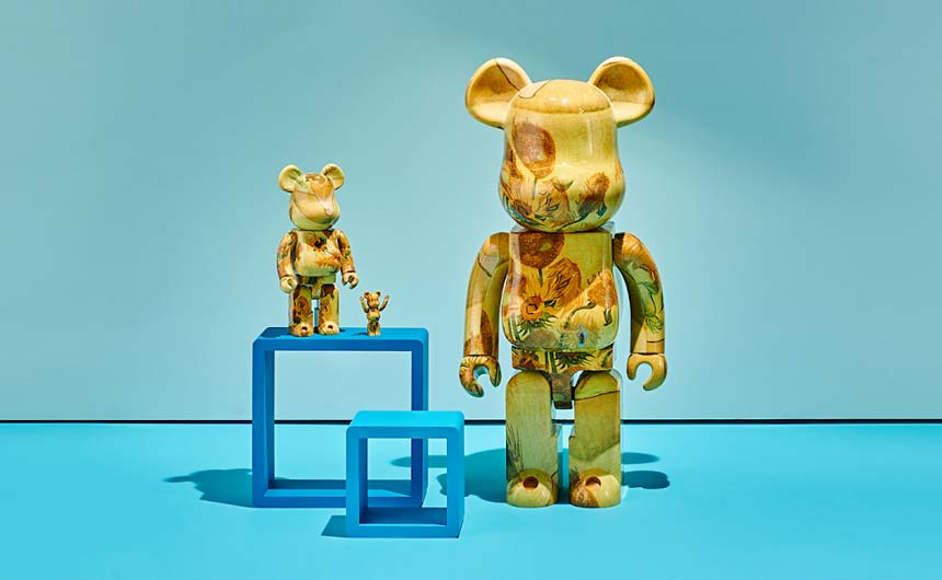 One of VGME's most recent collaborations is with Japanese company Be@rbrick for designer toy bears.