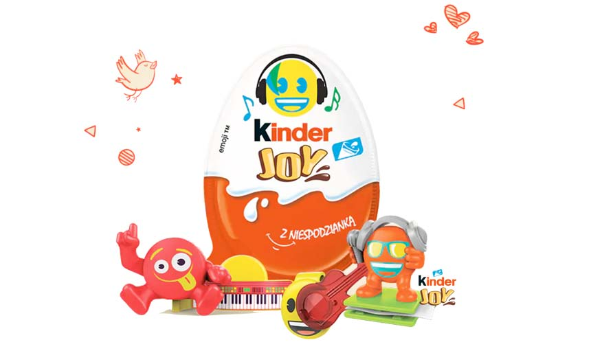The company is continuing to work with Ferrero for Kinder Joy in various territories.