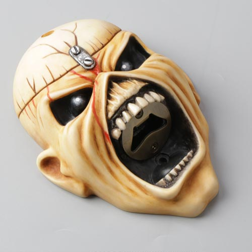 Beer Buddies has refreshed its Iron Maiden bottle openers recently.