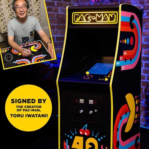 Lost Universe is selling a limited edition Pac-Man arcade game, hand signed by the brand's creator.