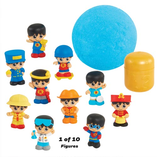 A new line of Ryan's Mystery Playdate toys launched in spring 2020 from Just Play.