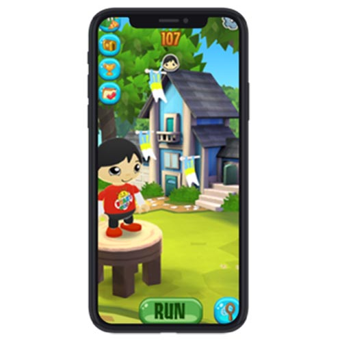 Ryan's first mobile game will launch later this summer.