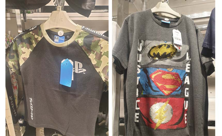PlayStation and Justice League featured in Next.