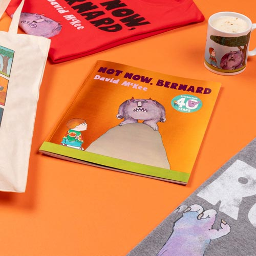 Andersen Press launched its first merchandising range based on Not Now, Bernard in June with TruffleShuffle.