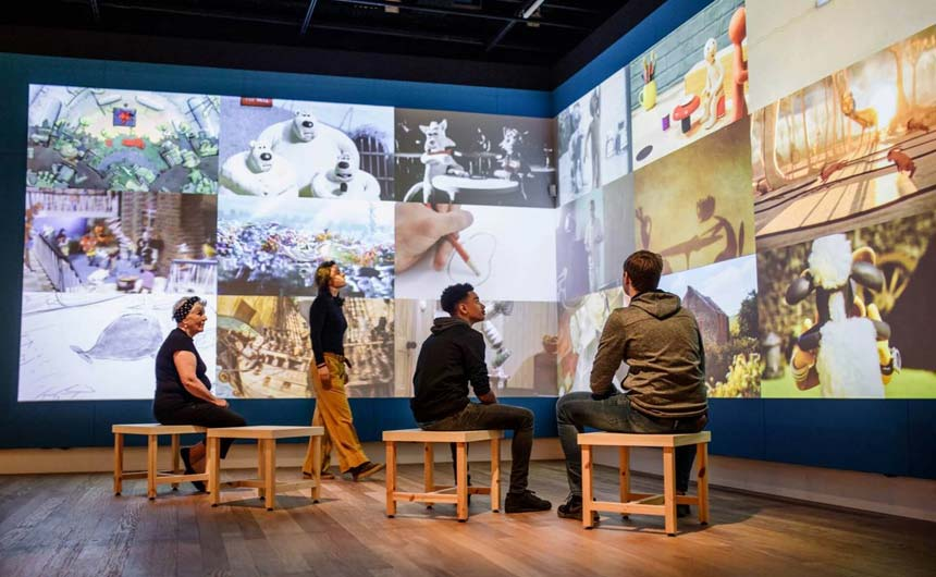 The Art of Aardman exhibition has opened in Holland after successful runs in other cities.