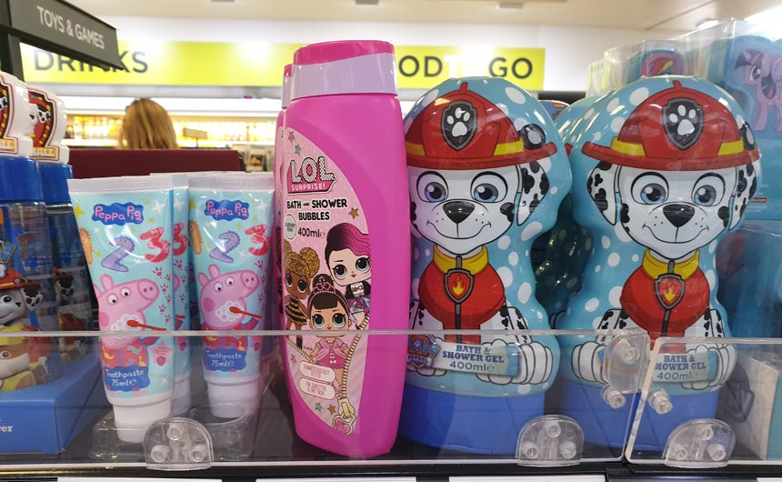 Well-known brands are a safe bet for the WH Smith outlets at motorway service stations.