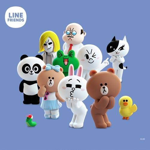 LineFriendsBlue500x500