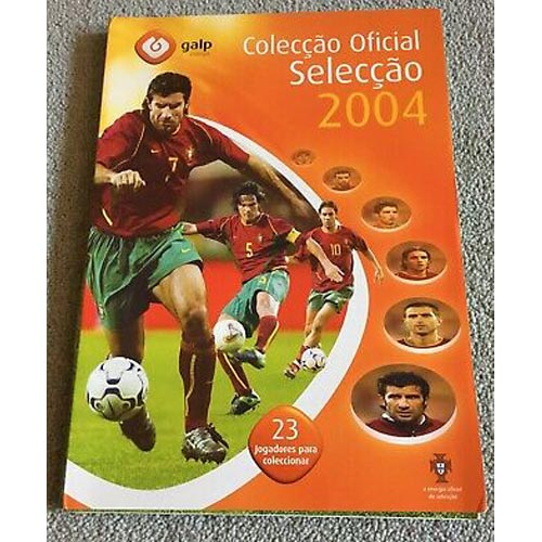 A GALP Portguese medal collection (Euro 2004 window) from SGLP 1.0.
