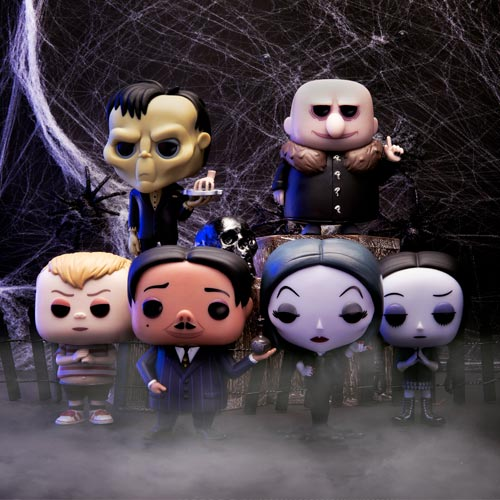 Funko is among the current licensee roster for The Addams Family.