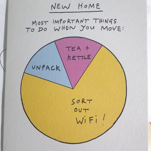 It's important to get your priorities correct when moving home.
