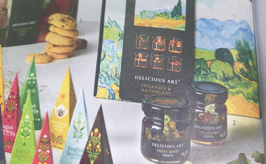 The National Gallery Delicious Art food gifting range is a long-term partnership with Boots.