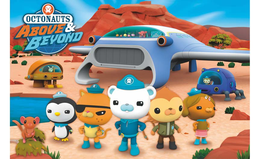 Above & Beyond will see the Octonauts undertake land-based adventures for the first time.