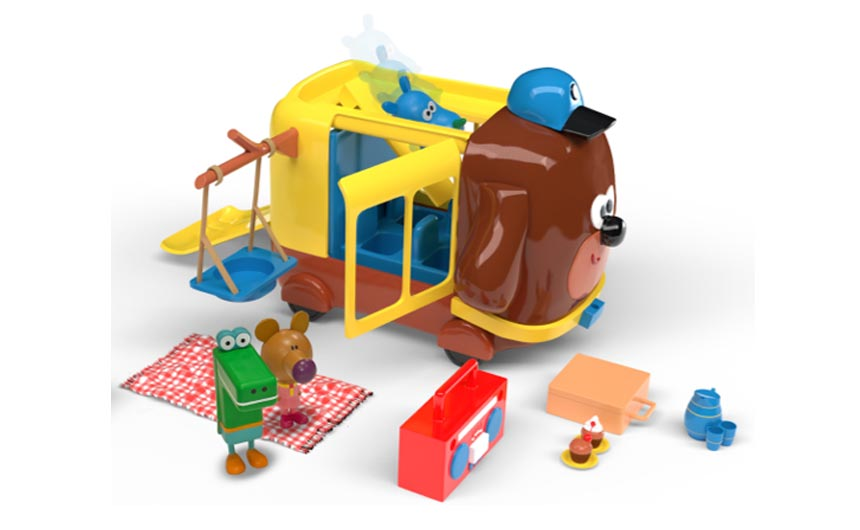 Hey Duggee continues to go from strength to strength, says Julie, with new product launches and licensees.