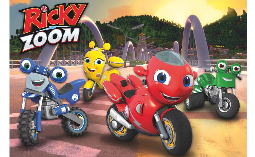 Hasbro is building towards a full product roll out for Ricky Zoom which will see new categories hit retail in 2021.