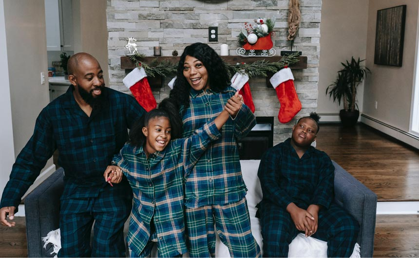 For most of us, Christmas just isn't Christmas without family.