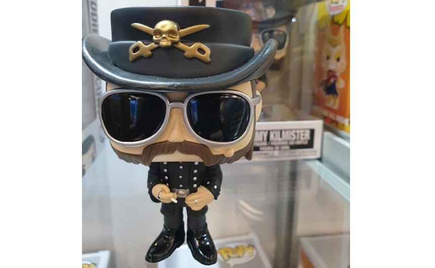 Funko's Lemmy Pop Vinyl figure is a reminder that music is a more and more important feature on the licensing landscape.