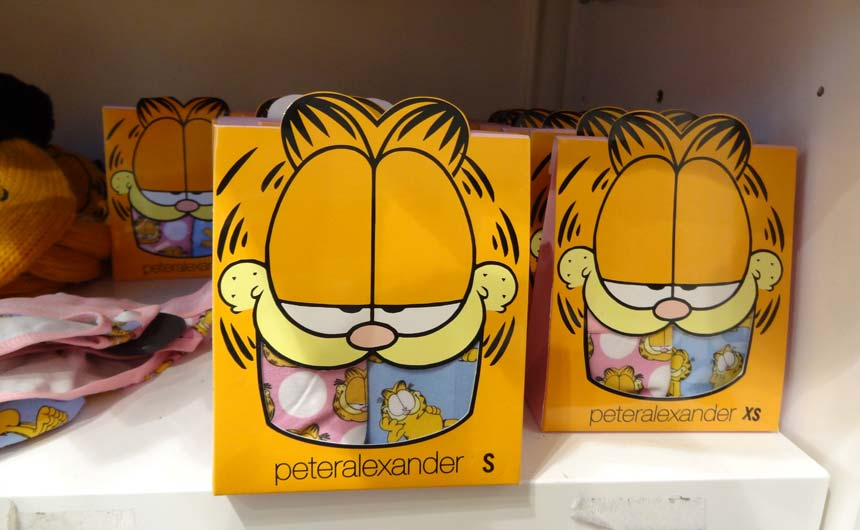 John implemented a successful Garfield programme with Peter Alexander.