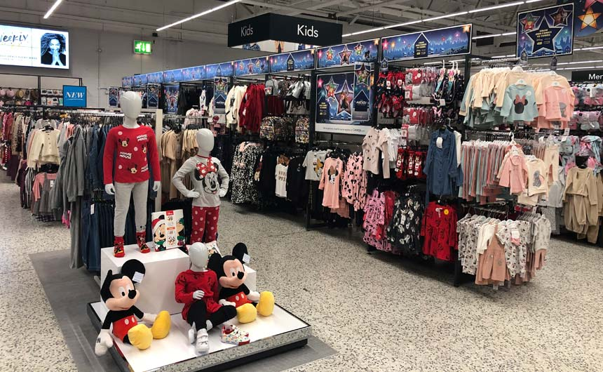 Disney shops launched in over 300 stores last October, exceeding all expectations.