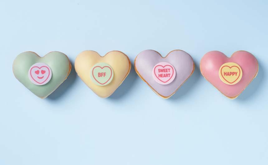 Krispy Kreme has developed a limited edition range of doughnuts.