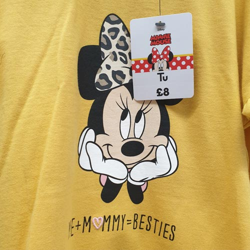 A Minnie Mouse design has been created specifically for Mother's Day.