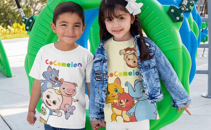 A new range will focus on the bright, playful, nursery-rhyme-singing CoComelon characters.