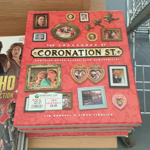 This Coronation Street title is among those offering good brand recognition.